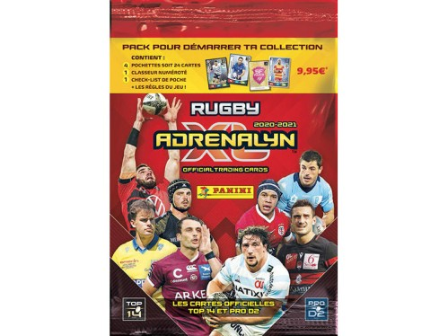 PANINI ADRENALYN XL RUGBY 2020-2021 PACK DE DEMARRAGE