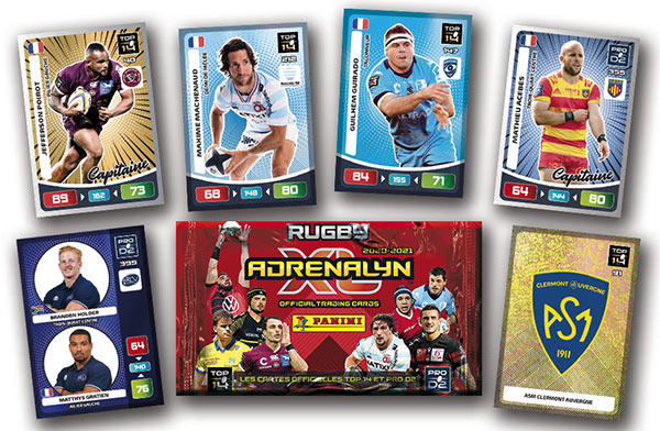 PANINI ADRENALYN XL RUGBY 2020-2021 VISUEL GENERAL