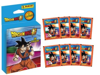 PANINI DRAGON BALL SUPER STICKERS 2021 BLISTER 8 POCHETTES