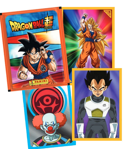 PANINI DRAGON BALL SUPER STICKERS 2021 VISUEL DES STICKERS