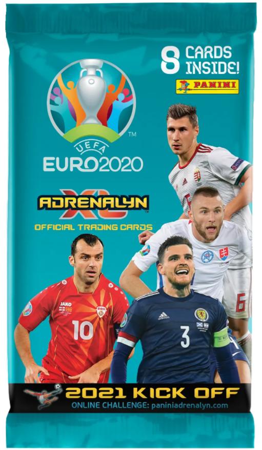 PANINI «UEFA EURO 2020 ADRENALYN XL – 2021 KICK OFF» : fiche signalétique (Allemagne) - Foot 2020