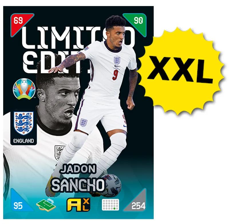 PANINI ADRENALYN XL EURO 2020 KICKOFF 2021 CARTE LIMITED EDITION XXL SANCHO