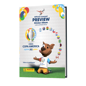 PANINI COPA AMERICA 2021 PREVIEW ALBUM RIGIDE