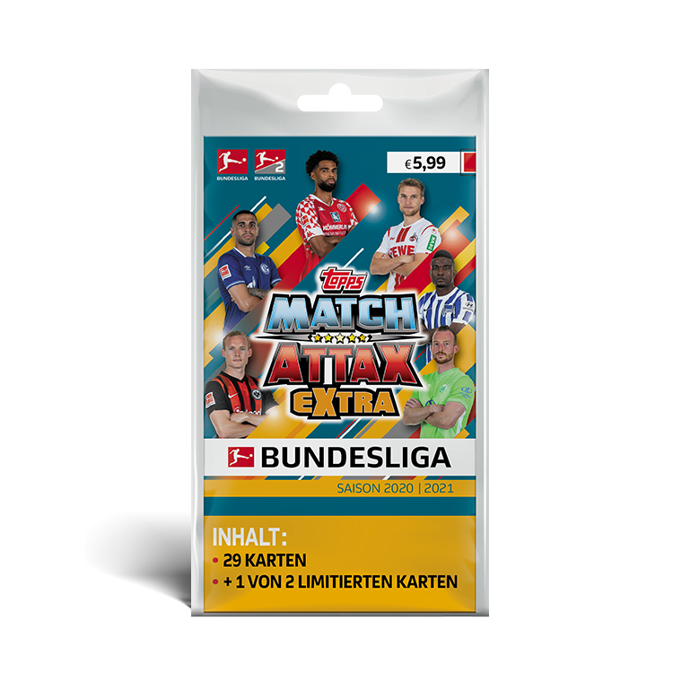TOPPS MATCH ATTAX EXTRA BUNDESLIGA 2020-21 BLISTER