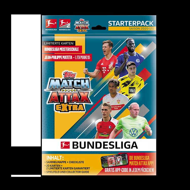 TOPPS MATCH ATTAX EXTRA BUNDESLIGA 2020-21 STARTER PACK DE DEMARRAGE