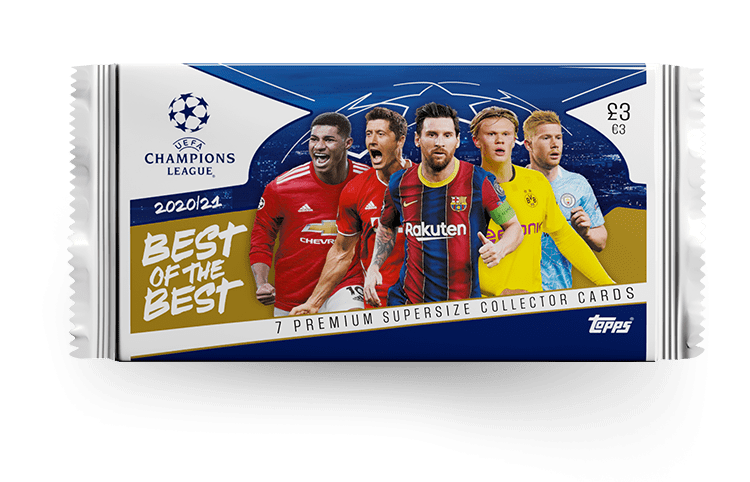TOPPS UEFA CHAMPIONS LEAGUE BEST OF THE BEST 2020-21 POCHETTE