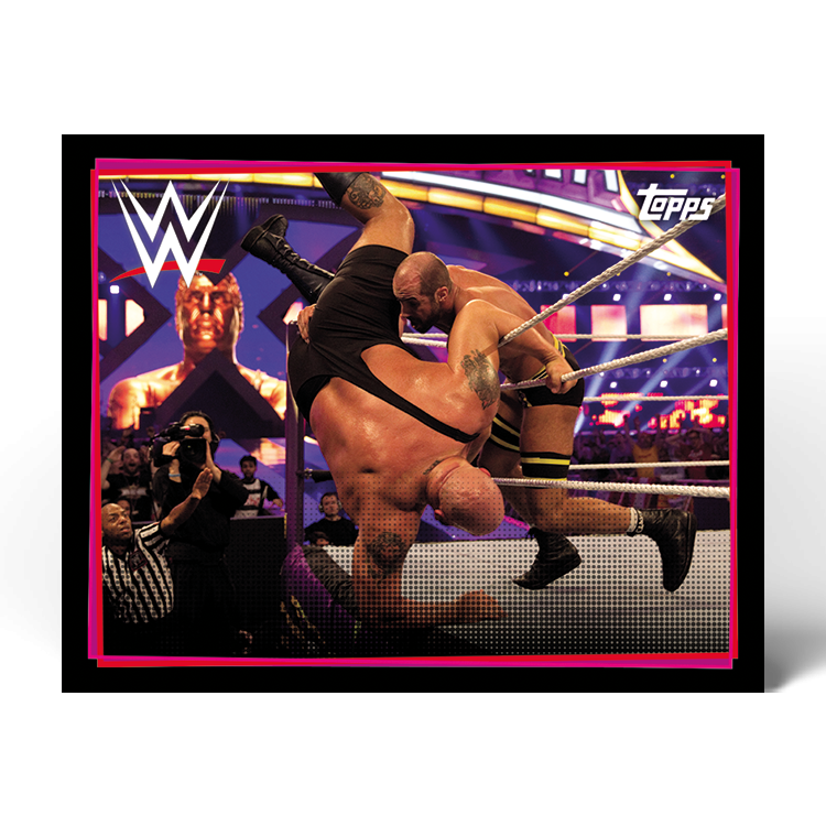 TOPPS WWE WRESTLEMANIA STICKERS 2021 EXEMPLE STICKER ACTION 06