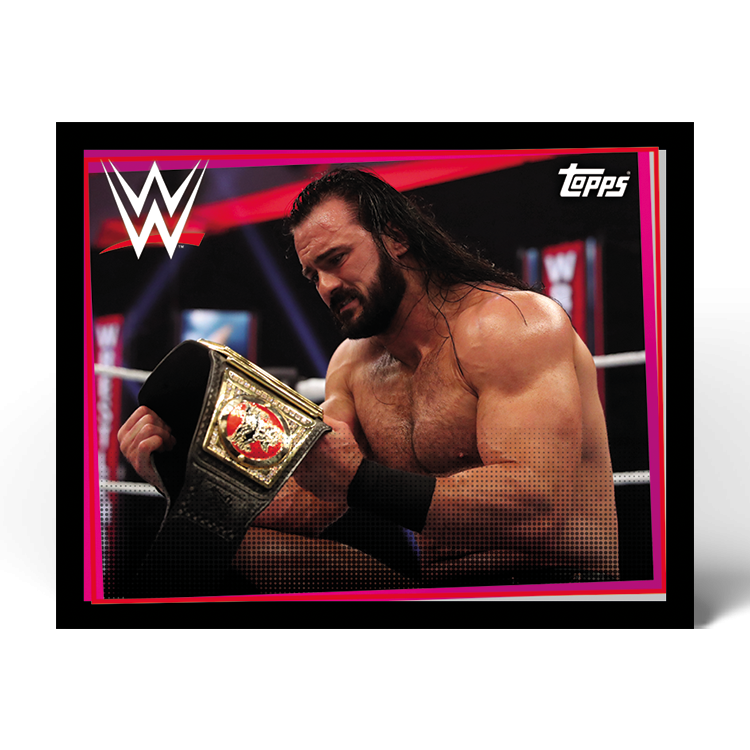 TOPPS WWE WRESTLEMANIA STICKERS 2021 EXEMPLE STICKER ACTION 07