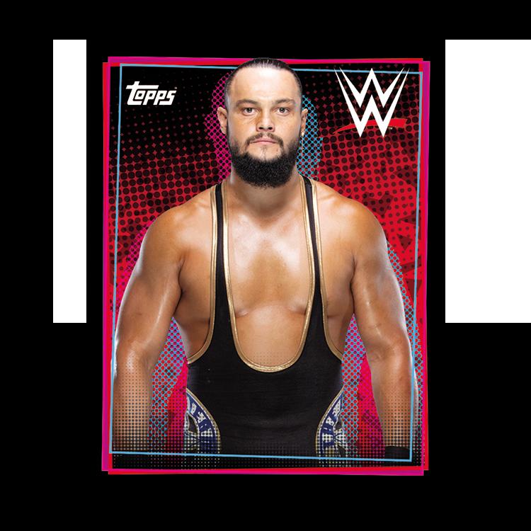 TOPPS WWE WRESTLEMANIA STICKERS 2021 EXEMPLE STICKER PORTRAIT 04