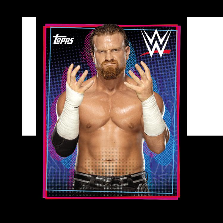 TOPPS WWE WRESTLEMANIA STICKERS 2021 EXEMPLE STICKER PORTRAIT 05