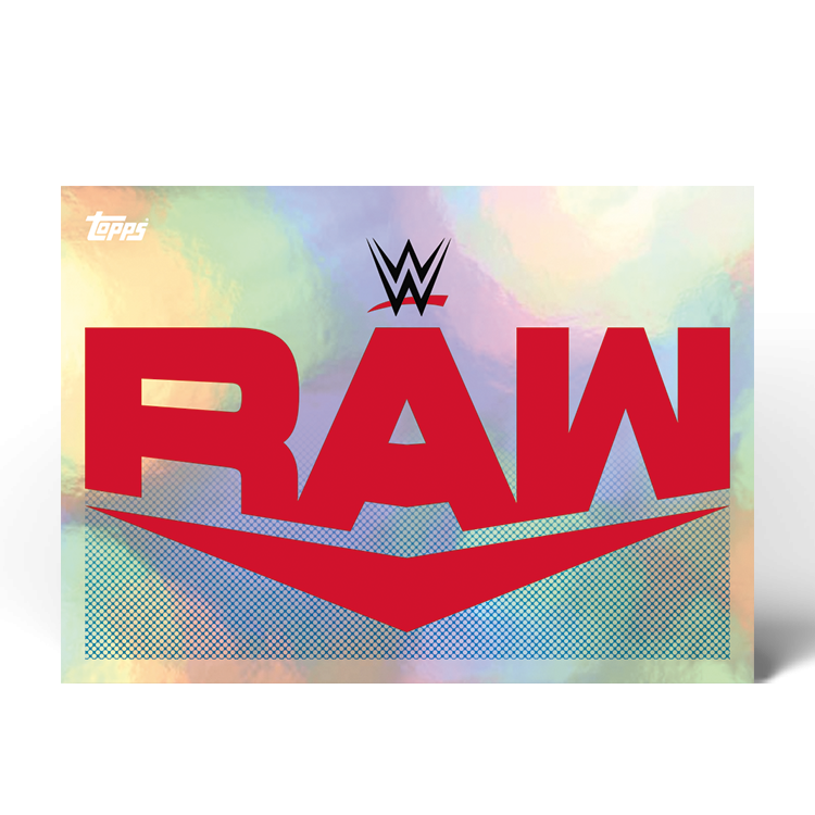 TOPPS WWE WRESTLEMANIA STICKERS 2021 EXEMPLE STICKER RAW
