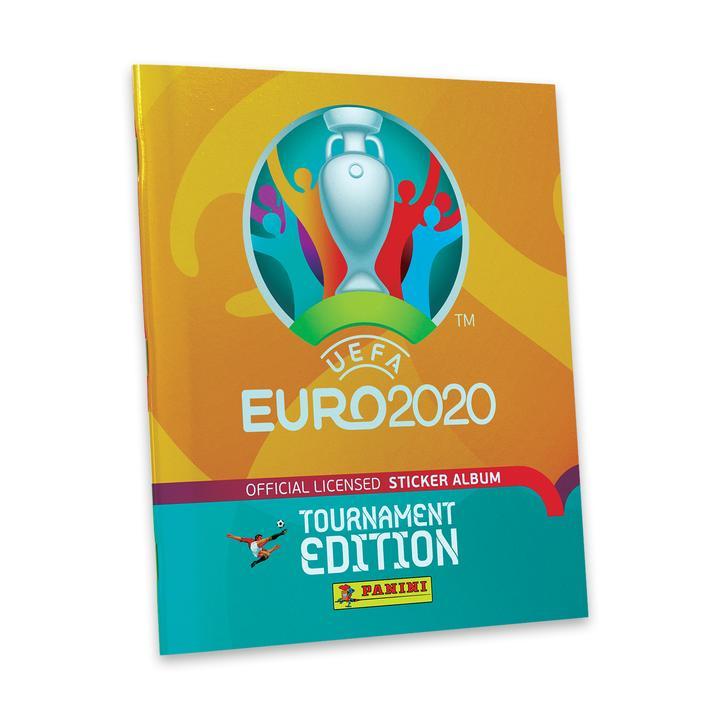 PANINI UEFA EURO 2020 TOURNAMENT EDITION 2021 STICKERS ALBUM AVEC COUVERTURE RIGIDE