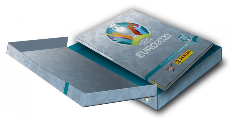 PANINI UEFA EURO 2020 TOURNAMENT EDITION SUISSE PEARL EDITION COLLECTOR BOX