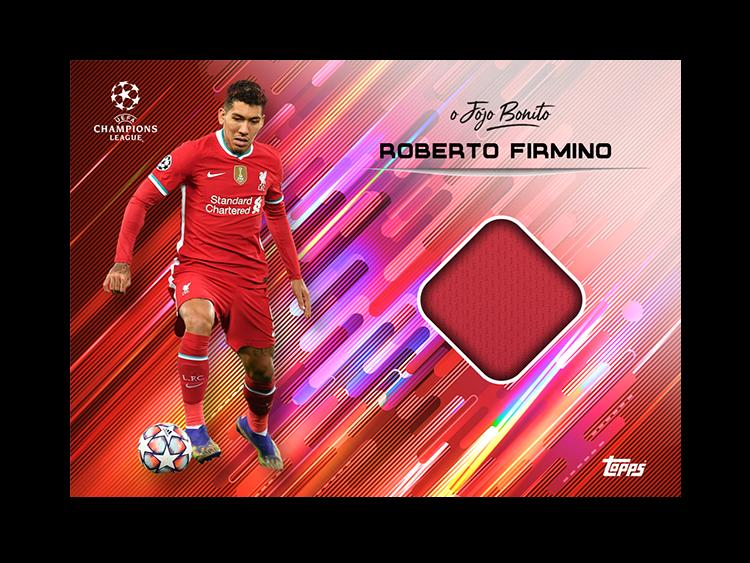 TOPPS DESIGNED BY ROBERTO FIRMINO CARTE RELIC FIRMINO