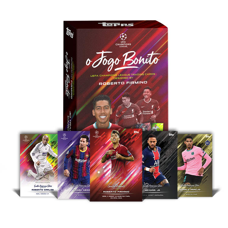 TOPPS DESIGNED BY ROBERTO FIRMINO VISUEL GENERAL